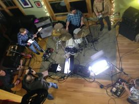 First Video Shoot /w Mud Creek & Blue Jimmy